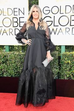 Tiziana Rocca - All the Stunning Looks from the 2017 Golden Globes - Photos