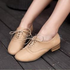 Lace-up Flats from ShoesPie.