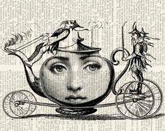 TeaTime Original design with Cavalieri portrait by FauxKiss