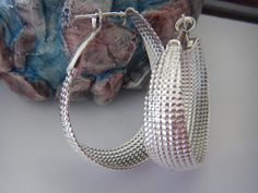 925 Sterling Silver plated Oval Long Everyday by PinelopiTreasures, $20.00