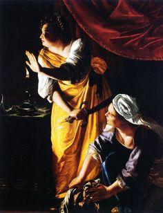 Artemisia Gentileschi - Giuditta con la sua ancella (Detroit) - 1625-1627 -  The Detroit Institute of Arts