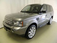 2008 Land Rover Range Rover Sport Supercharged SUV with only 47,084 miles at Browns Jaguar.