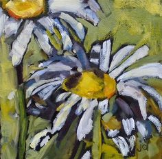 "Daily Paintworks - ""Subtle boldness"" - Original Fine Art for Sale - © Jean Delaney"
