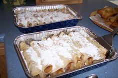 Apple Enchilada Dessert. I'd lost my recipe for these. Very good.