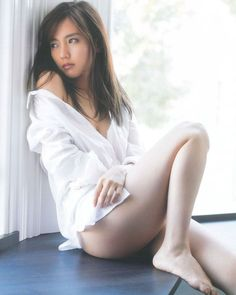 Erina Mano 真野恵里菜 She Was Beautiful, Asian Girl, White Dress, Nude, Lingerie, Actresses, Sexy, Pretty, People