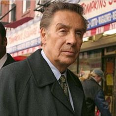 Lenny Briscoe - Law and Order  RIP - Jerry Orbach, you are missed.