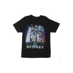 Beetlejuice T-shirt - MyTeeSpot - Your T-shirt Store ($19) ❤ liked on Polyvore featuring tops, shirts, t-shirts and t shirts
