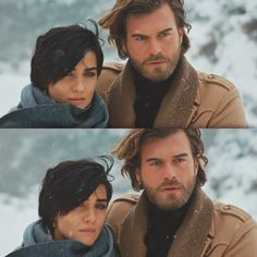 Kivanc and Tuba as Cesar and Shuhan Portrait Photography Poses, Turkish Actors, Cute Couples, Brave, Characters, Couple Photos, My Love, Projects, Beautiful