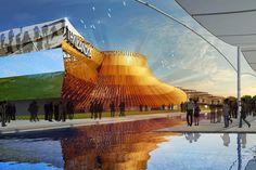 La #Thailande s'offre au monde lors d' #Expo2015 : le pavillon Thailandais sera caractérisé par une reproduction immense du chapeau traditionnel des paysans des rizières. En savoir plus : http://www.novoceram.fr/blog/news/pavillon-thailande-expo-2015