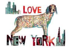 Great Dane-dog gift-dog decor-dog art-Great Dane art-Great Dane print-dog lover by pinkypilotsart on Etsy https://www.etsy.com/listing/74213343/great-dane-dog-gift-dog-decor-dog-art