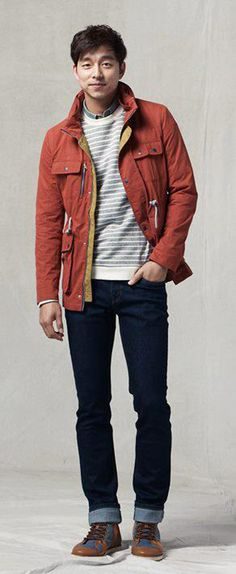 GONG YOO ДЛЯ MIND BRIDGE FW 2012