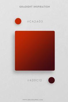 16 Beautiful Color Gradient Inspiration Part 4 Flat Color Palette, Color Palate, Color Blending, Sports Graphic Design, Graphic Design Posters, Colour Schemes, Color Patterns, Flat Design Colors, Web Design