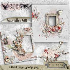 G & T Blogspot: Gabrielles Gift Quick Pages - Freebie