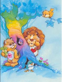 I love this one, care bear cousins