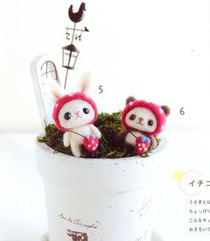 Lovely Felt Wool Friend Doll Japanese craft book by MeMeCraftwork
