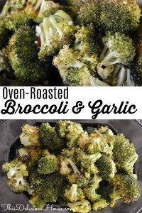Oven Roasted Broccoli with Garlic is an easy side dish you bake in the oven. Roa… Oven Roasted Broccoli with Garlic is an easy side dish you bake in the oven. Roasted broccoli is a healthy way to serve veggies and is easy to make with little clean up. Vegetable Dishes, Vegetable Recipes, Vegetarian Recipes, Healthy Recipes, Lean Recipes, Roast Recipes, Crockpot Recipes, Healthy Snacks, Healthy Side Dishes