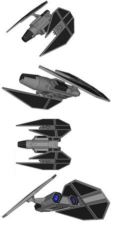Seen very rarely during the Clone Wars, the Warfang was the personal vessel of Jedi Shadow Dax Jarden. The Warfang was a heavily modified jedi fighter, mixed with whatever technology Dax had gleane...