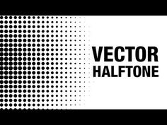 Photoshop Tutorial - Creating Vector Halftones - YouTube