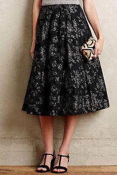 Shimmered Rose Skirt