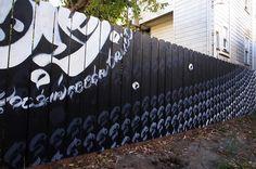 PILGRIMAGE by USUGROW, UPPER PLAYGROUND SF, San Francisco, US, 2014 #usugrow #calligraphy #mural