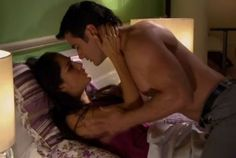 Sandra Echeverría and David Zepeda