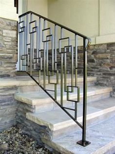 interior metal stair railing ideas for modern wooden staircase yay
