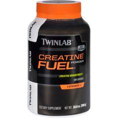 Twinlab Creatine Fuel Powder Unflavored 10.6 oz