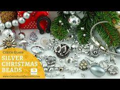 Video! SILVER Christmas Czech Glass Beads   #dawanda #dawanda_de #dawandashop #etsy #etsyshop #etsystore #etsyfinds #etsyseller #amazon #amazondeals #alittlemercerie #silver #silverbeads #silverjewelry #silverdesign #silverchristmas #christmasdecorations #christmasjewelry #christmasornaments #czechbeads #glassbeads #czechglassbeads #czechglassjewelry
