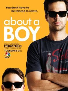 About a Boy (NBC) TV Show.Another good show bites the dust 😭 Minnie Driver, Best Tv Shows, Movies And Tv Shows, Favorite Tv Shows, Favorite Things, Al Madrigal, Roman, Nbc Tv, Internet Movies