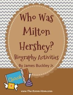 Fun, short non-fiction text. Great supplement to Charlie and the Chocolate Factory, Chocolate Touch, Candymakers...