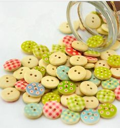 Cute little buttons