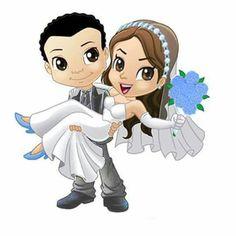Couple Sketch, Couple Art, Wedding Cards, Wedding Invitations, Happy Wedding Day, Couple Illustration, Rock Painting Designs, Happy Art, Cute Dolls