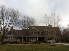 Exterior in North Oaks, MN Painted with Benjamin Moore Aura  Color Name:  Cromwell Gray