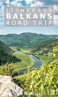 Balkans road trip itinerary - Bosnia & Herzegovina, Montenegro and Albania