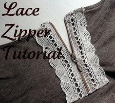 This is cute and is also a reminder of how to sew in a zipper!