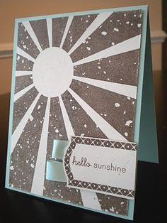Sunshine stamp card