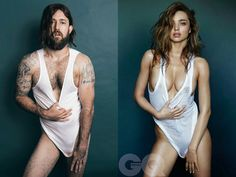 The Bondi Hipsters created this parody of Miranda Kerr's recent photo shoot with GQ, complete with reinterpretations of her obtuse sexual commentary, as a criticism of the over-sexulization of women in high fashion.  Dead on.