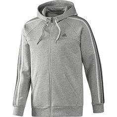 adidas Men's Essentials 3-Stripes Full-Zip Hoodie | adidas UK