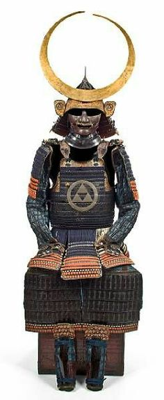 Armor belong to the Hojo family of the Sayama fief, Kawachi province. They were supplanted there after being defeated, during the siege of there homebase, at  Odawara castle by Toyotomi Hideyoshi in1590.