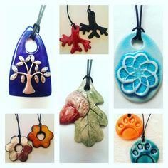 Ceramic pendants /Özlem Menekay                                                                                                                                                                                 More