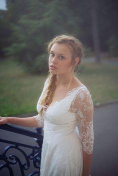 Les Robes de mariée d'Organse - Paris | Modèle : Camille | Crédits : Organse | Donne-moi ta main - Blog mariage