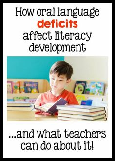 Why does oral language matter in learning to read and write? This post has information, a free assessment, and ideas about how to develop your students' oral language skills.