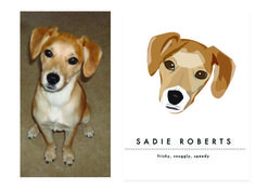 Two Brunettes - Two Brunettes - Pet Illustrations: Sadie Roberts