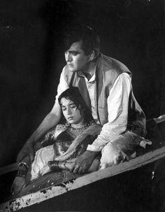 """Nartakee"" / 1963 / Nanda and Sunil Dutt Asian Celebrities, Asian Actors, Sunil Dutt, Asian Photography, Film Icon, Indian Star, Vintage Bollywood, Indian Film Actress, Bollywood Stars"