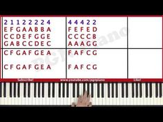 ♫ EASY - How To Play Hallelujah Leonard Cohen Piano Tutorial Lesson - PGN Piano