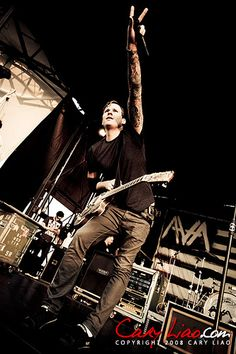 Tom with Angels and Airwaves