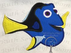 "You don't want to miss the new ""FINDING DORY"" Applique just in time for the next moving coming out this weekend"