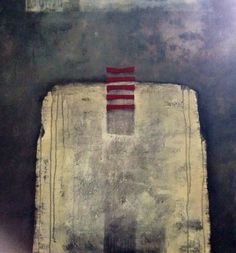 """Upwards"" Acrylic on canvas ElinMuren"