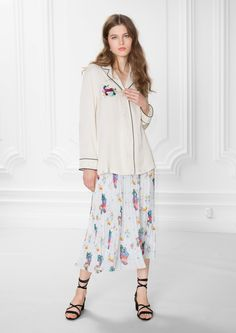 & Other Stories image 2 of Buttoned Blouse in Off white