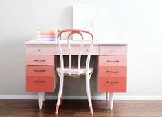 Bookcase Makeover - Painted Furniture Ideas - 9 Colorful Makeovers - Bob Vila